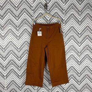 Nwt Duluth Flex Fire Hose Ltd Wide Leg Crop Pants